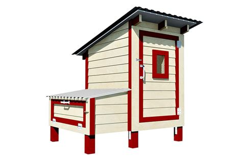 [click]cluck Rodgers 4x3 Chicken House Plan  Howtoplans Org.